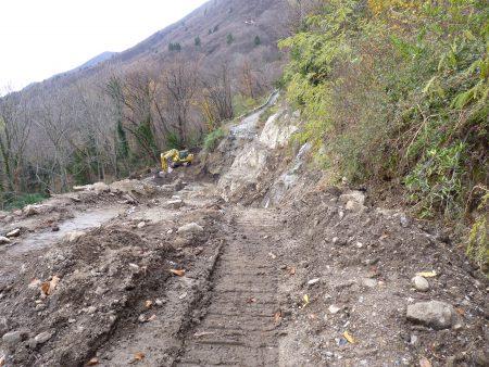 Die «Notstrasse» von Ponte nach Donego oder meine Zweifel an der italienischen Ingenieurkunst