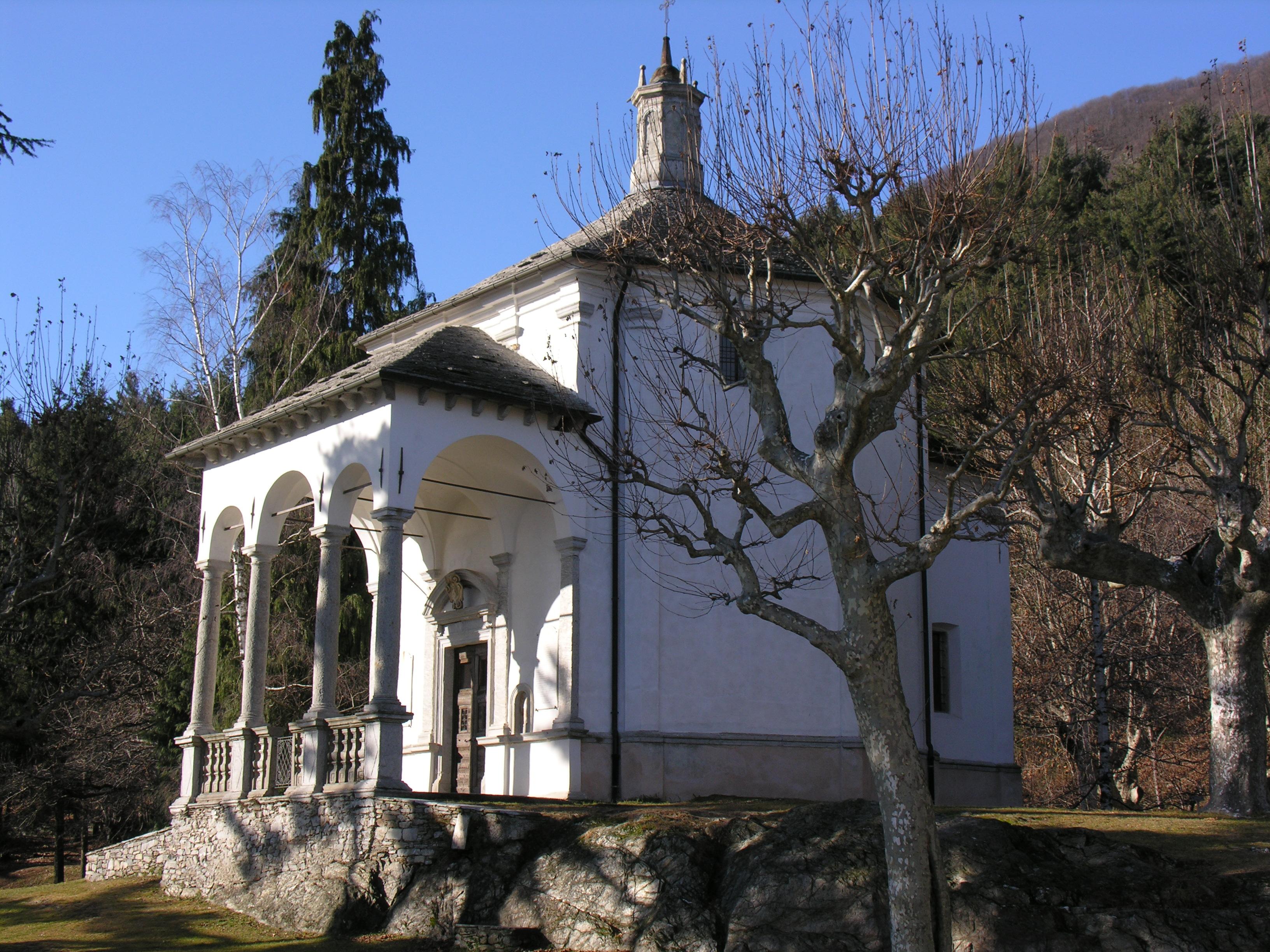 Mein Kraftort Sacro Monte di Ghiffa
