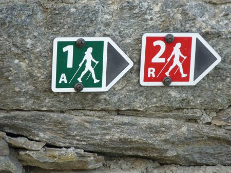 Der Nordic Walking Nr. 1 in Oggebbio