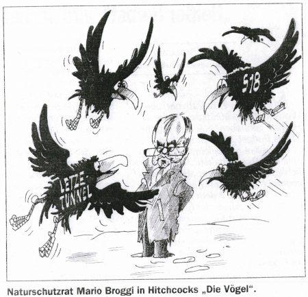 """Broggi in Hitchcocks """"Die Vögel"""""""