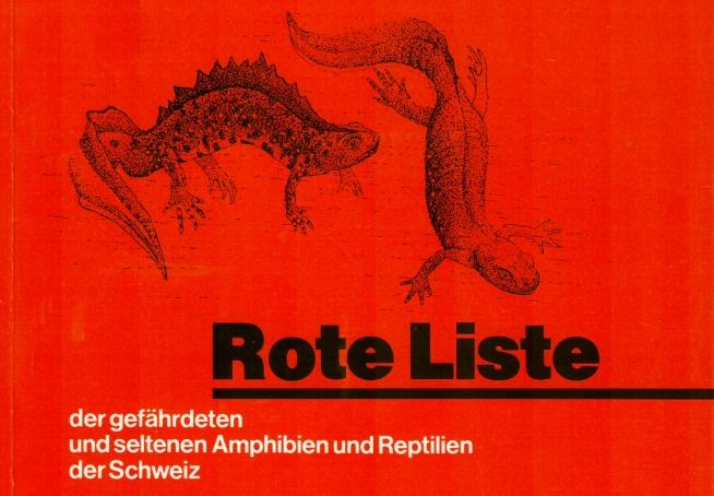 Rote Listen gefährdeter Arten