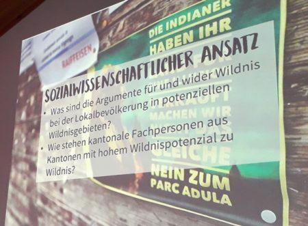 Vernissage «Wildnispotenzial Schweiz»