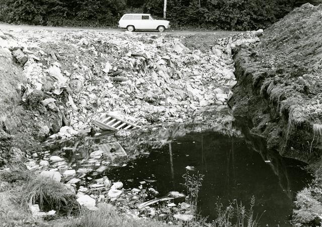 Mülldeponie im Schellenberger Riet