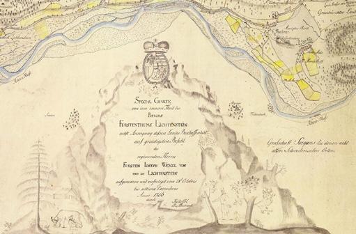 Special Charte von dem innern Theil des Reichs Fürstenthums Lichtenstein