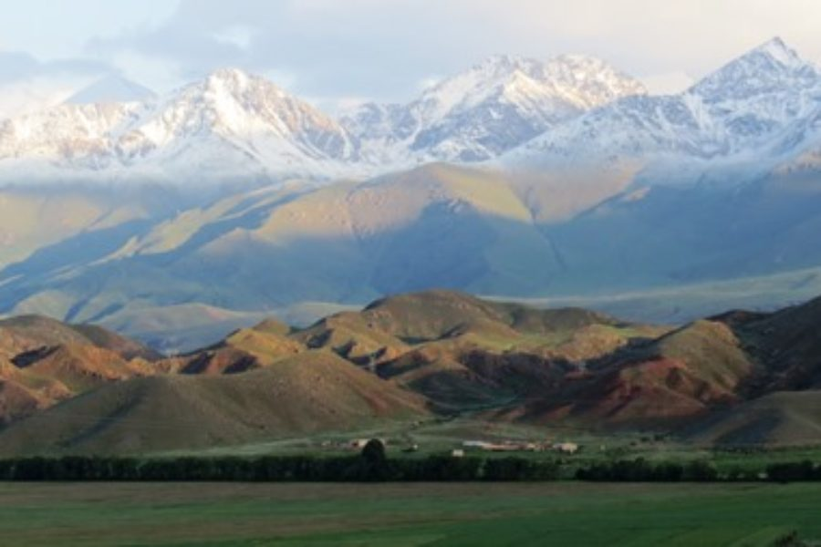 Exkursion in die Himmelsberge des Tian Shan in Kirgistan, Juli 2013