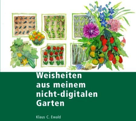 Zum Gartenbuch von Klaus Christoph Ewald