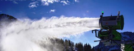 Schneekanonen – zuerst das Wettrüsten, jetzt letztes Aufbäumen gegen die Klimafolgen?