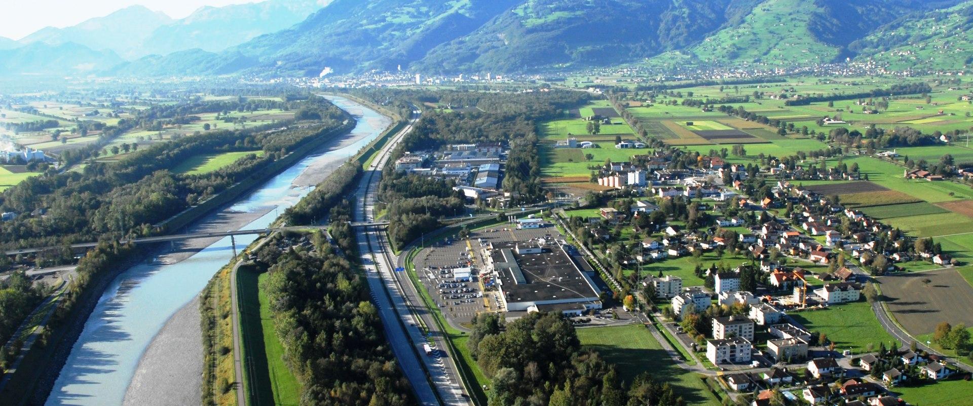 Ersatzbiotope «Wisenfurt» (Buchs-Sennwald SG) und «Afrika» (Buchs SG) für Rodungen wegen des Baus der Nationalstrasse N13 im Bereich Trübbach-Haag