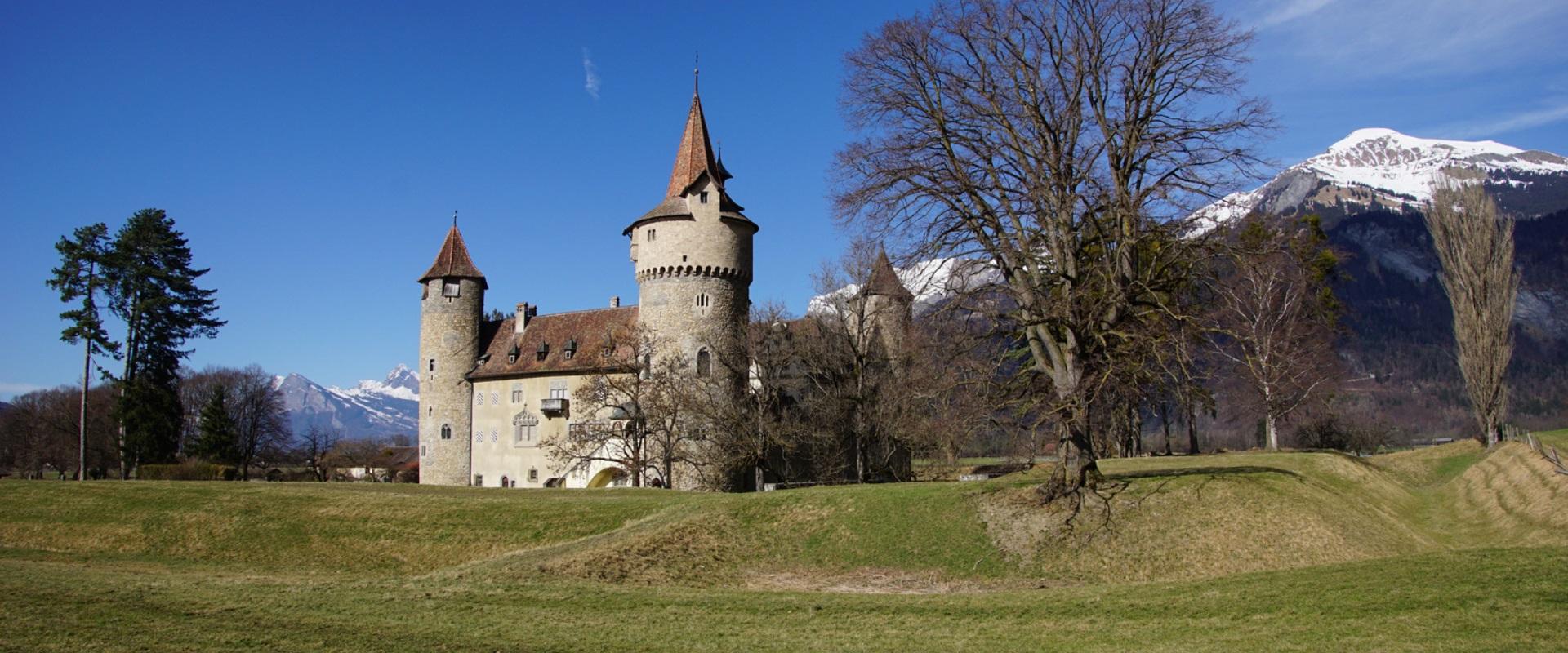 Marschlins – verstecktes Wasserschloss im Alpenrheintal