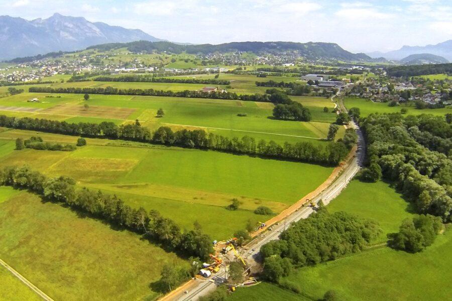 Wiederbegrünung der liechtensteinischen Rheintalebene – eine Erfolgsgeschichte