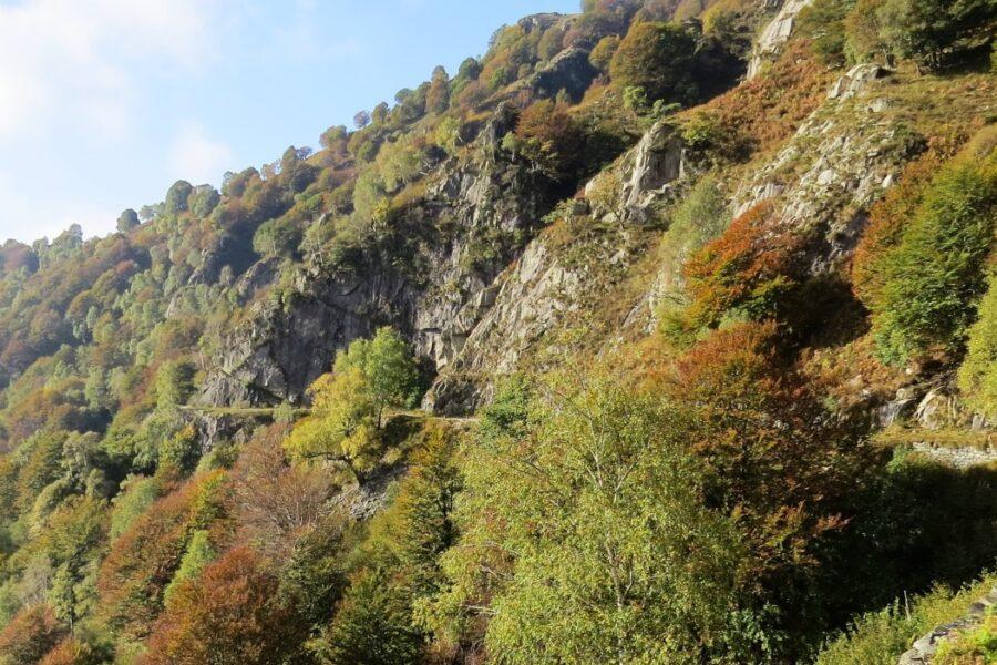 Auf dem Panoramaweg zum Morissolo
